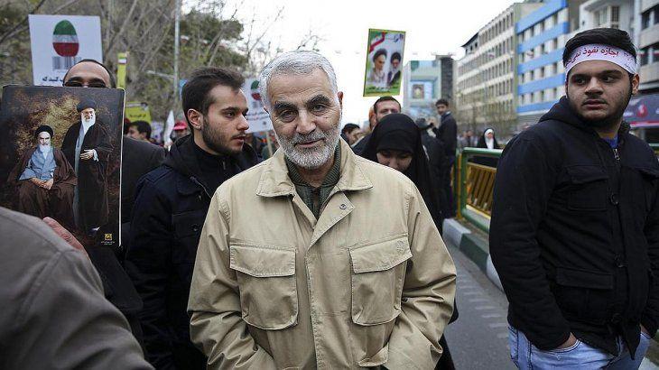 El general iraníQassem Soleimani.