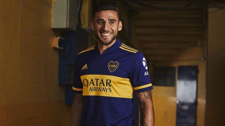 Esta es la nueva camiseta titular de Boca.