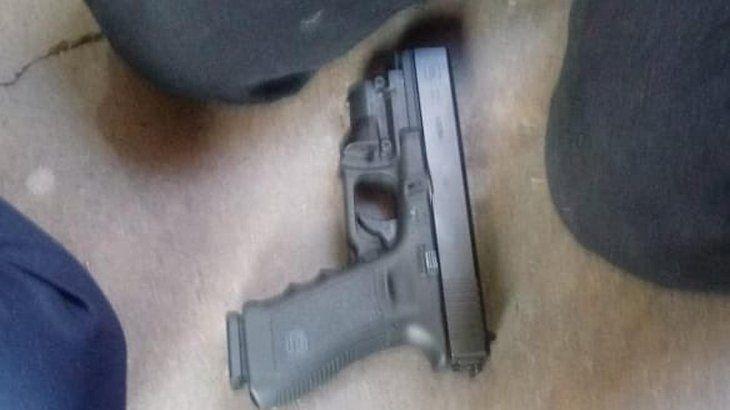 El arma que utilizó el niño