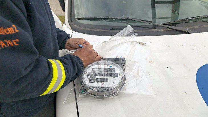 El robo de energía es un delito penado y sancionado con multas.