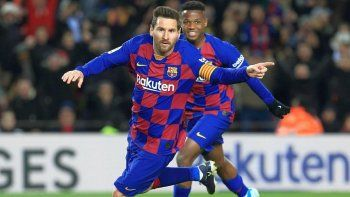 Lionel Messi, el salvador de siempre en Barcelona.