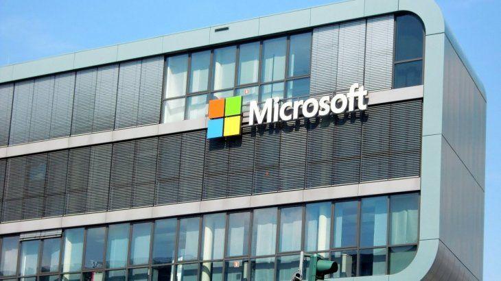 Microsoft se ubica en el 3° lugar.