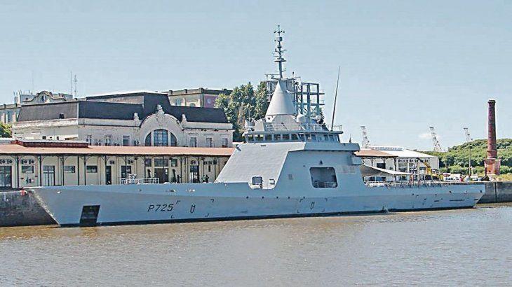 Estreno. Este miércoles llegará al puerto de Buenos Aires el primer buque de patrullaje oceánico de la clase OPV que Francia construyó para la Argentina. El gobierno de Macri había comprado cuatro naves de este tipo.