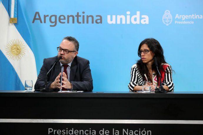 La iniciativa fue presentada por el ministro de Desarrollo Productivo, Matías Kulfas, y la secretaria de Comercio Interior, Paula Español.