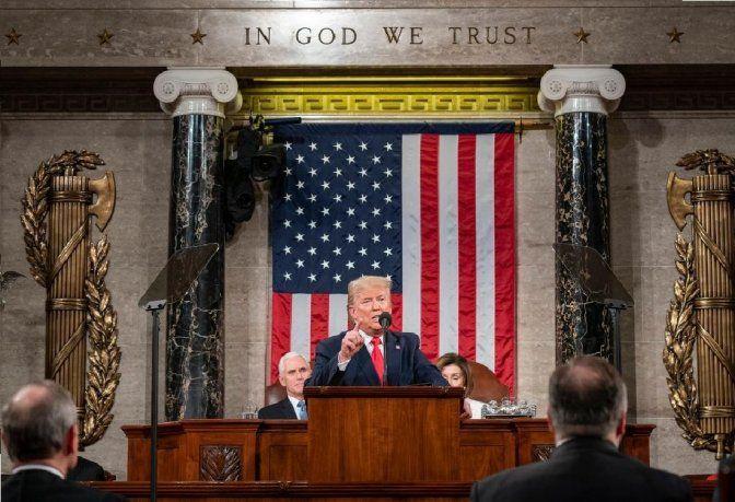 El presupuesto se anuncia como una nueva batalla en la guerra entre el presidente Trump y los demócratas en la Cámara de Representantes.