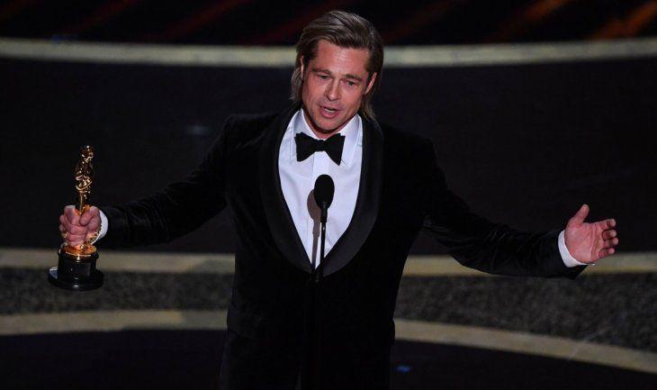 Brad Pitt se impuso en la categoría