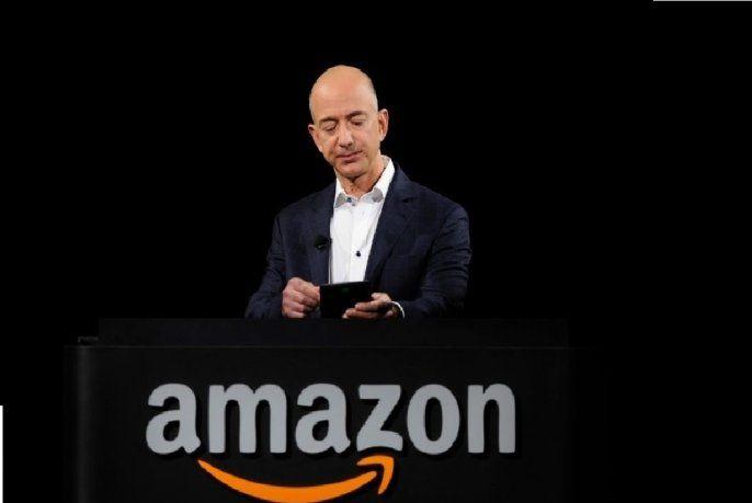Jeff Bezos, propietario de Amazon.