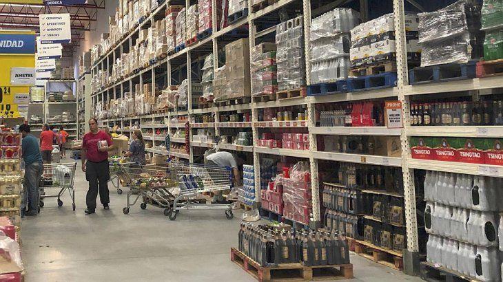 Los supermercados mayoristas ya anticipan que habrá desabastecimiento.