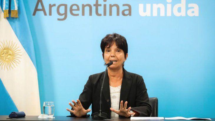 La titular de la AFIP. Mercedes Marcó del Pont, ratificó que el pago de salarios complementarios a través de ATP continuará con los salarios de mayo.