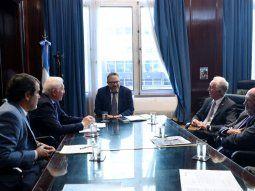 Representantes de la CAC le entregaron un documento con propuestas al ministro de Desarrollo Productivo, Matías Kulfas.