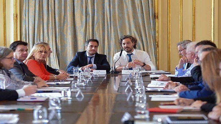 Primera reunión del gabinete nacional de Cambio Climático.