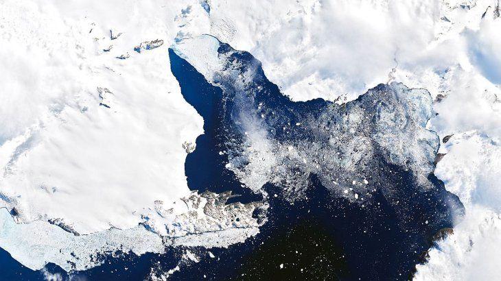 Advierten que el calentamiento global está causando un derretimiento irreversible del hielo antártico