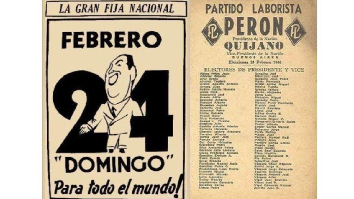 Se cumplen 74 años del primer triunfo de Perón | Juan Domingo Perón, Elecciones, aniversario, Eva Perón