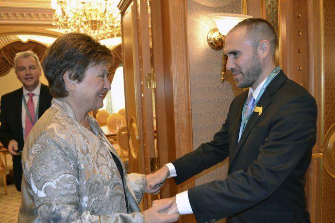 Georgieva, igual que Lagarde: no quiere obra pública en año electoral