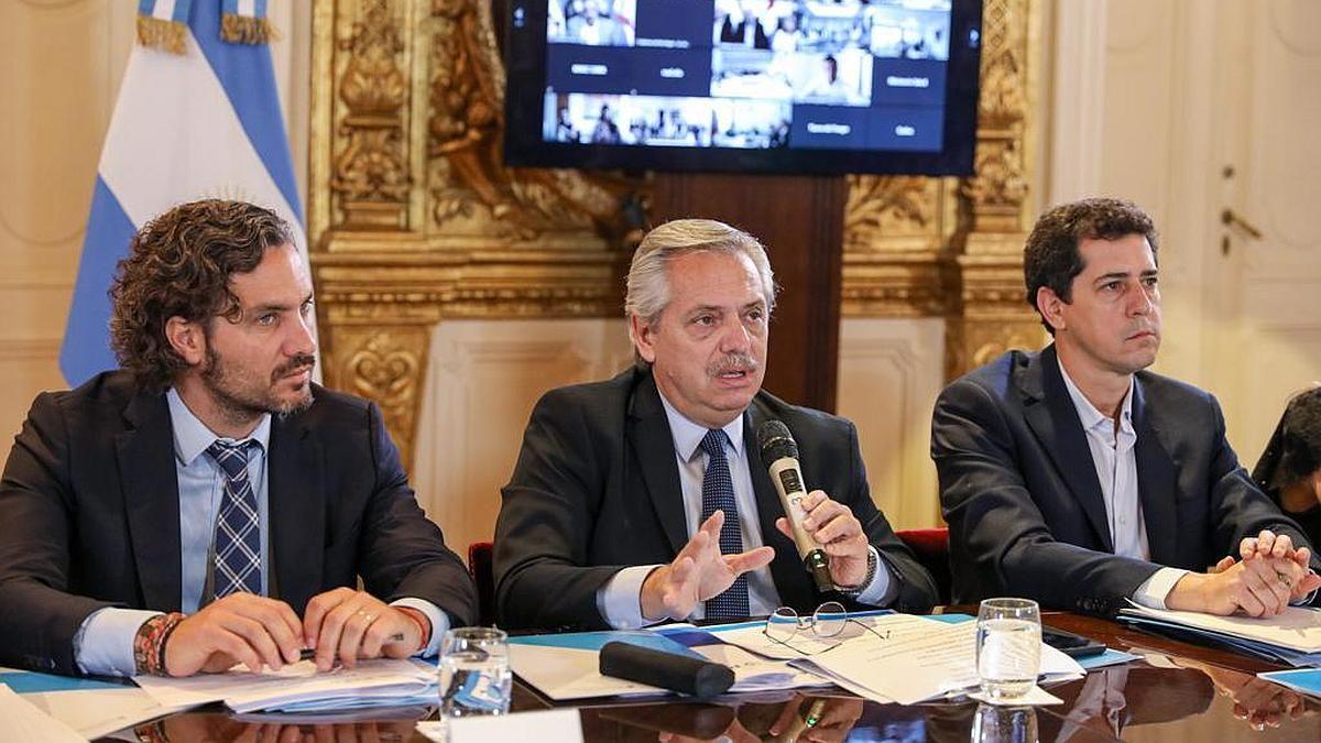Alberto Fernández encabeza la reunión en Casa Rosada por el coronavirus | Coronavirus, Gobierno, Salud