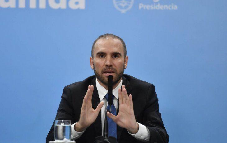 El ministro de Economía. Martín Guzmán