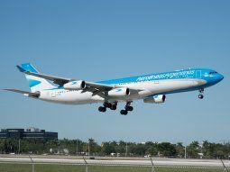 Este vuelo se suma a las 55 operaciones especiales que ya realizó la empresa. Desde el 18 de marzo ya regresaron más de 17.000 argentinos al país.