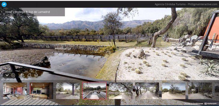 """Bajo el lema de """"Disfruta Córdoba desde tu Casa"""", la provincia ofrece  un espacio digital de distensión."""