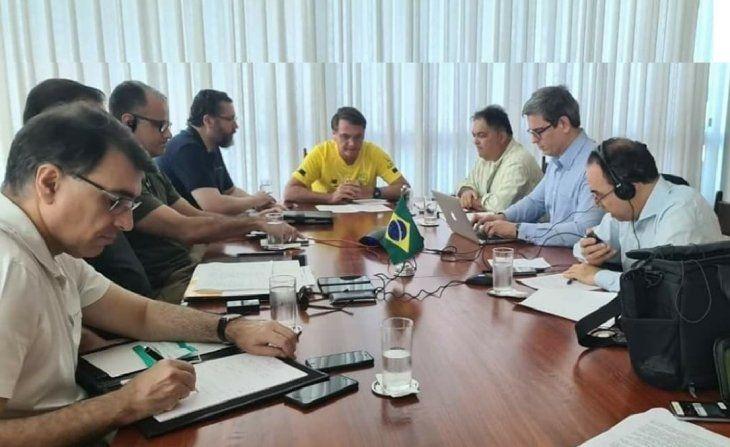 Bolsonaro es un referente del negacionismo al coronavirus entre los presidentes del mundo.