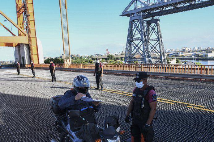 Se dispusieron 131 controles fijos en los puntos de acceso a la Ciudad y móviles dentro de la Capital Federal.