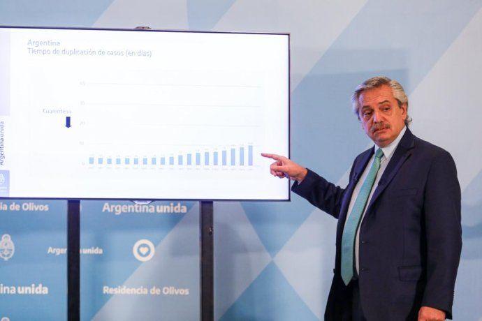 El respaldo de los argentinos al presidente Alberto Fernández y su gobiernosigue en niveles muy altos.
