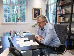 El presidente Alberto Fernándezanunciará en las próximas horas la extensión de la cuarentena.