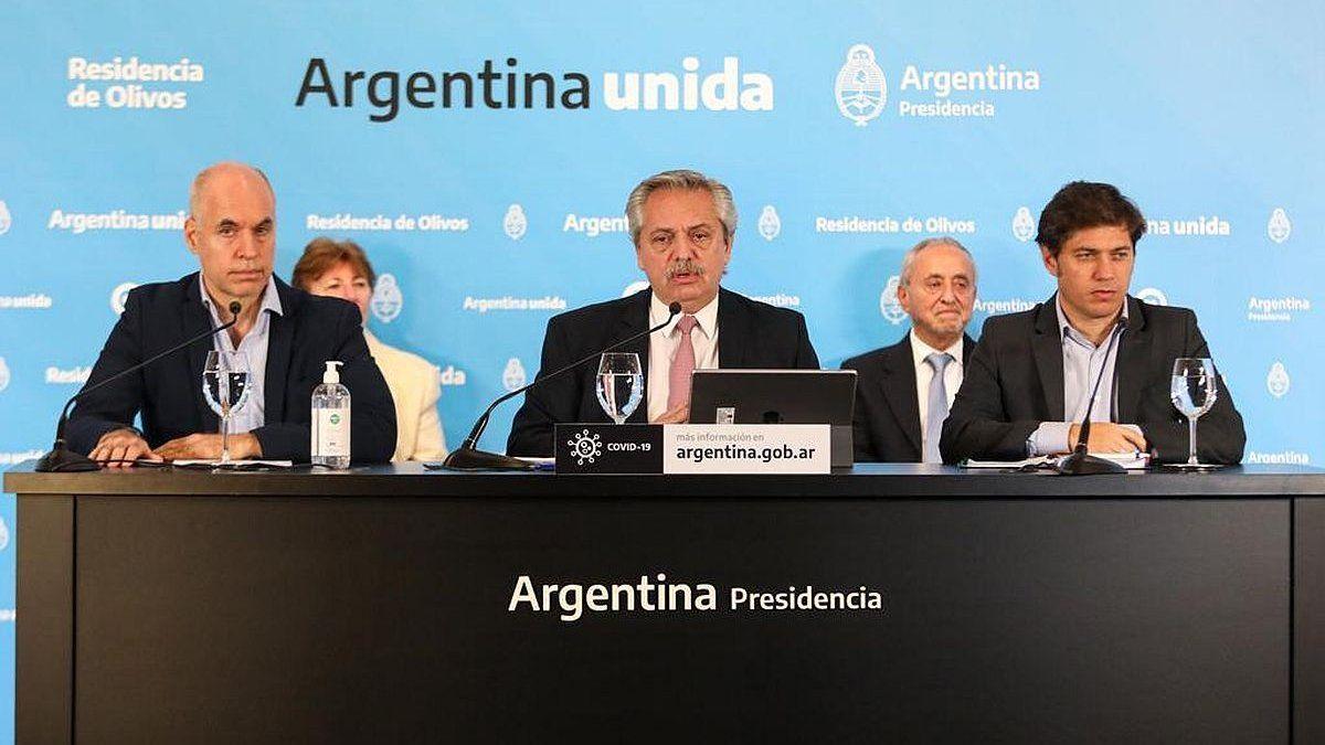 Menos el AMBA, toda la Argentina pasa a la fase cuatro de reapertura progresiva   Ciudad de Buenos Aires, Buenos Aires, Cuarentena