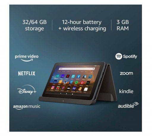 El cargador inalámbrico no viene incluido en la compra del dispositivo, pero es una manera de facilitar la carga de la tablet y no depender de un enchufe.