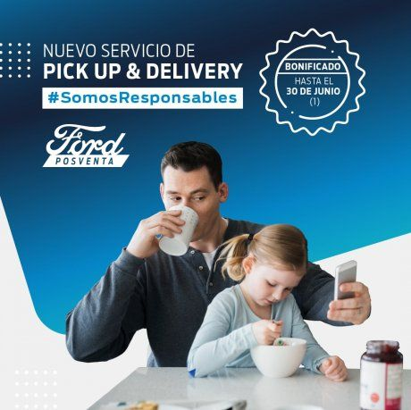 Como parte de su transformación digital Ford Posventa lanza un nuevo servicio de retiro y entrega del vehículo, Pick up & Delivery, para que los clientes puedan realizar el mantenimiento de su vehículo sin salir de su casa.