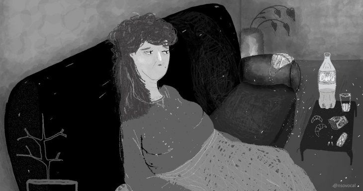 Cuentos de la Pandemia VIII: La tormenta (Ilustración  Nadia Isoardi)