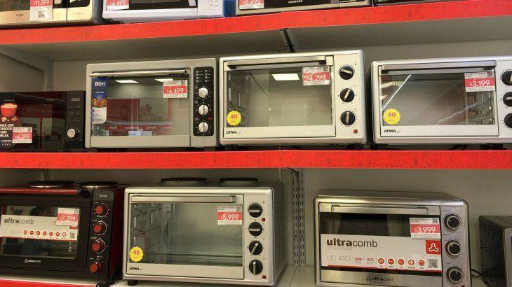 Ventas: electrodomésticos crecieron con respecto al año pasado