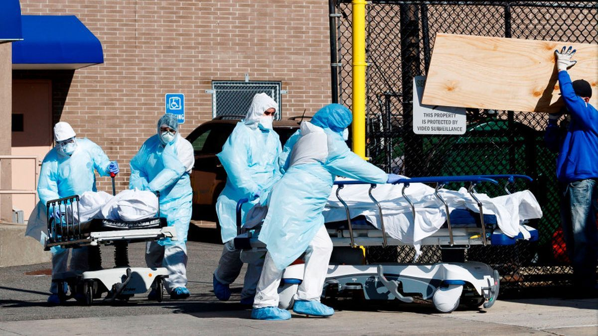 Coronavirus: EEUU registró en un día el más alto número de casos en dos meses