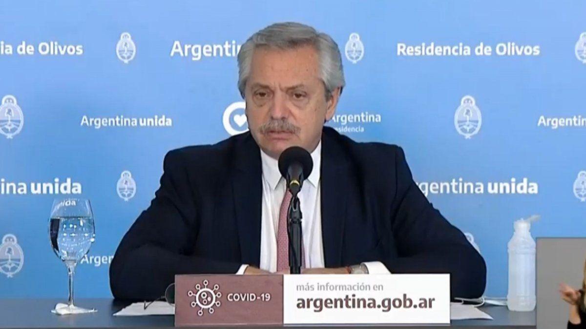 Alberto Fernández sobre Vicentin: Rescatamos una empresa que va camino al precipicio | Vicentin, expropiación, Alberto Fernández