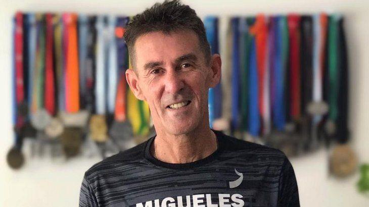 Luis Migueles es entrenador y vigente plusmarquista argentino en 800 metros.