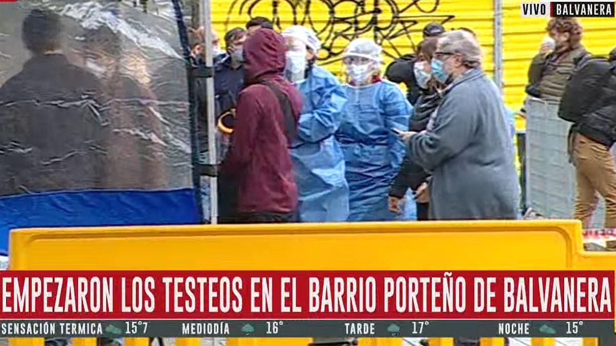 Empezaron los testeos en Balvanera, el barrio porteño con un pico reciente de coronavirus | Coronavirus