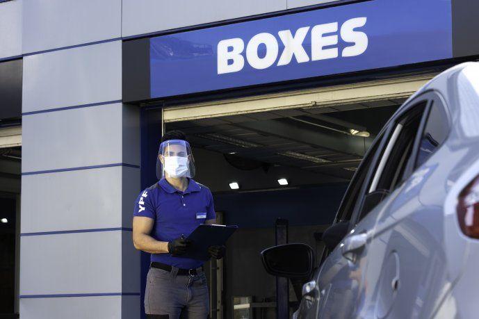YPF te da la posibilidad de realizar un diagnóstico completo de tu auto en las estaciones que cuenten con Boxes.