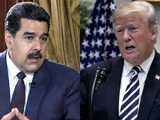 Donald Trump no descarta reunirse con Nicolás Maduro   Trump ...