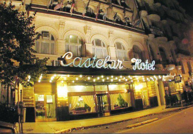 Emblema. El histórico Castelar Hotel cerró sus puertas por la cuarentena