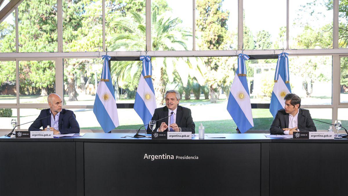 Alberto anunció que el AMBA vuelve al aislamiento estricto hasta el 17 de julio   Cuarentena, comercios, AMBA, Gobierno