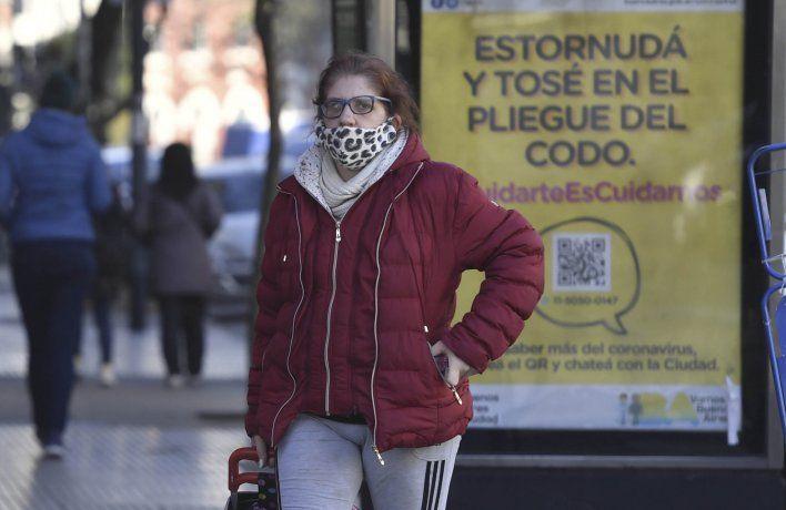 Según el registro de síntomas advertidos por los contagiados en la Ciudad de Buenos Aires