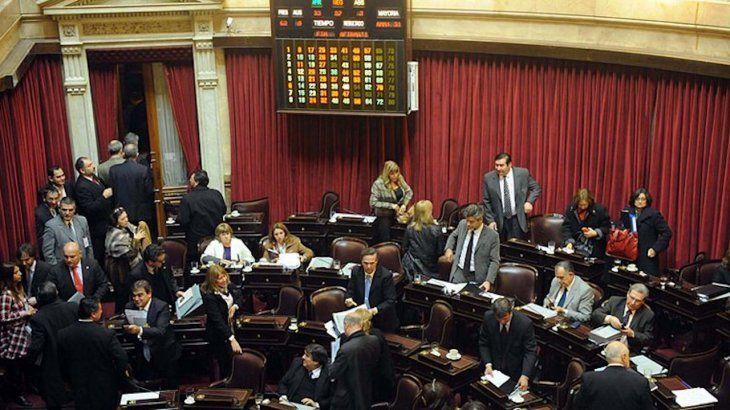 Votación del matrimonio igualitario en el Senado.
