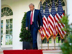 """Trump dijo que lavotación universal por correo implicará """"una gran vergüenza para los EstadosUnidos""""."""