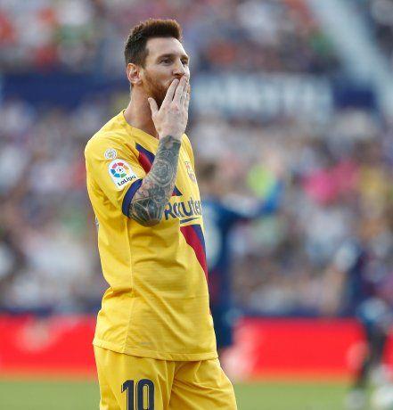 Messi le dijo a Florentino Pérez que no pierda su tiempo.