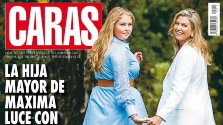La tapa de caras causó polémica por calificar a la Princesa de los Países Bajos como