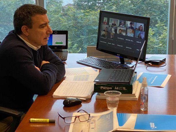 Fabián Lombardo, Director Comercial de Aerolíneas Argentinas.