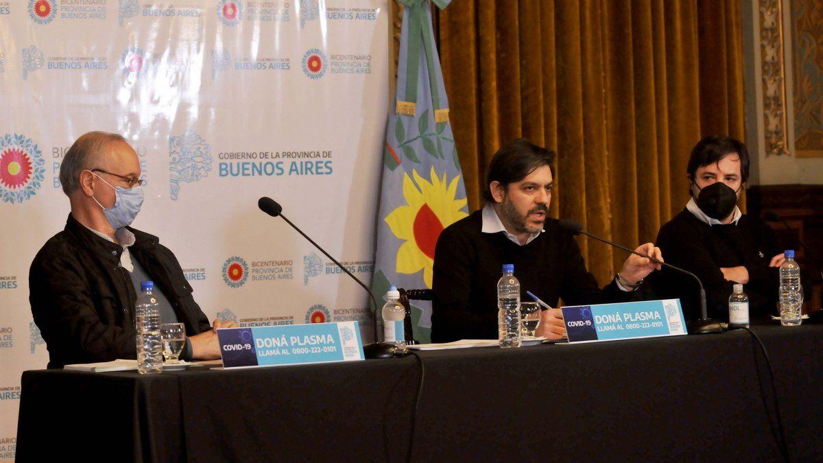 Bianco y Gollan brindan detalles sobre la situación de la pandemia en Provincia
