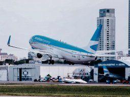 Impacto. Aerolíneas Argentinas apeló a suspensiones rotativas para reducir las pérdidas por la pandemia. Ayer logró aval de Aeronavegantes.