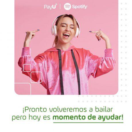Spotify activó la función para que miembros de la música y de la comunidad creativa de Argentina y Latinoamérica reciban ayuda económica por parte de los fans