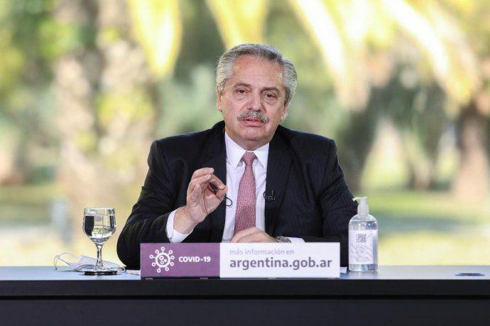 El presidente Alberto Fernández encabezó el relanzamiento del plan ProCreAr.