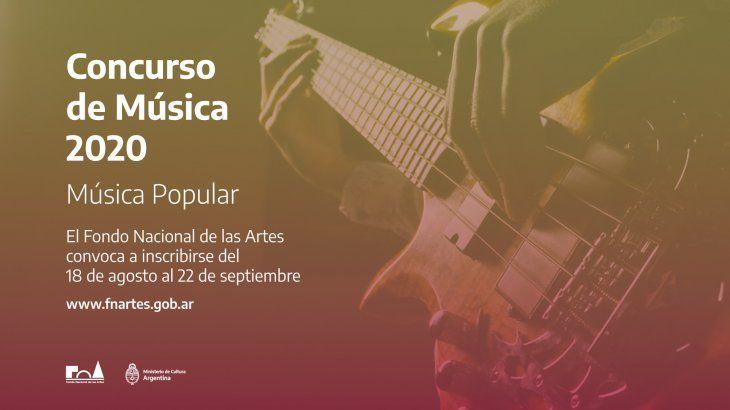 Lanzan Concurso de Música 2020.